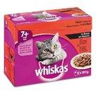 Whiskas-multipack-senior-7+-vlees-in-saus-12x100gr